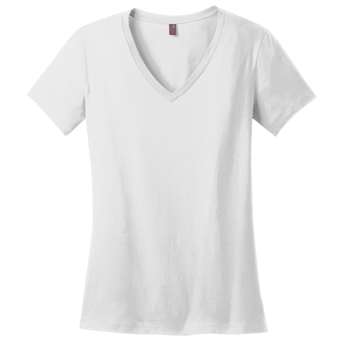 District Made Ladies Perfect Weight V-Neck
