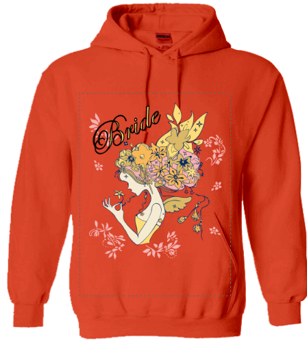 Personalized wedding hoodies