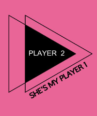 She's my player 1
