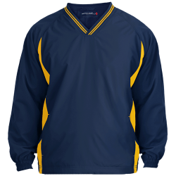 Sport-Tek Mens Tipped V-Neck Windshirt