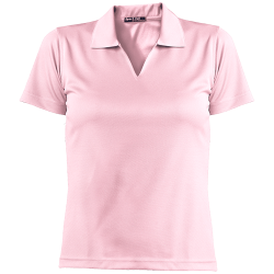 Sport-Tek Ladies Dri-Mesh Short Sleeve Polo