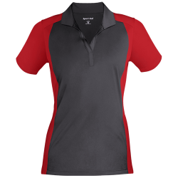 Sport-Tek Ladies Colorblock Sport-Wick Polo