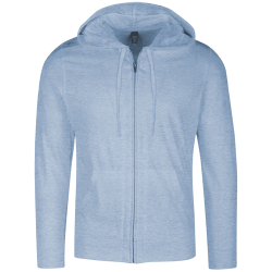 District Mens Lightweight Full Zip Hoodie