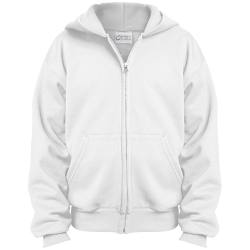 Port & Co. Youth Full Zip Hoodie