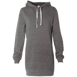 Womens Hooded Pullover Dress