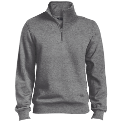 Sport-Tek Mens Tall 1/4 Zip Sweatshirt