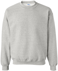 Gildan Unisex Crewneck Pullover Sweatshirt  8 oz