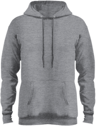 Port & Co Mens Core Fleece Pullover Hoodie