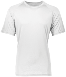 Augusta Youth Raglan Sleeve Wicking T-Shirt