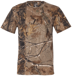 Code V Mens Short Sleeve Camouflage T-Shirt