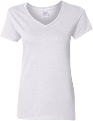 Gildan Ladies' 5.3 oz. V-Neck T-Shirt