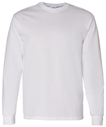 Gildan Mens LS T-Shirt 5.3 oz.