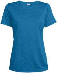 Sport-Tek Ladies' Heather Dri-Fit Moisture-Wicking T-Shirt