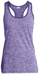 Sport-Tek Ladies Moisture Wicking Electric Heather Racerback Tank