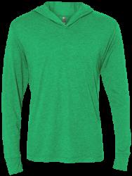 Next Level Unisex Triblend LS Hooded T-Shirt