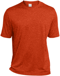 Sport-Tek Mens Heather Dri-Fit Moisture-Wicking T-Shirt