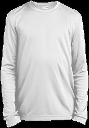 Sport-Tek Youth LS Moisture-Wicking T-Shirt