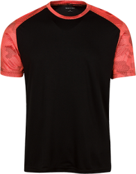Sport-Tek Youth CamoHex Colorblock T-Shirt